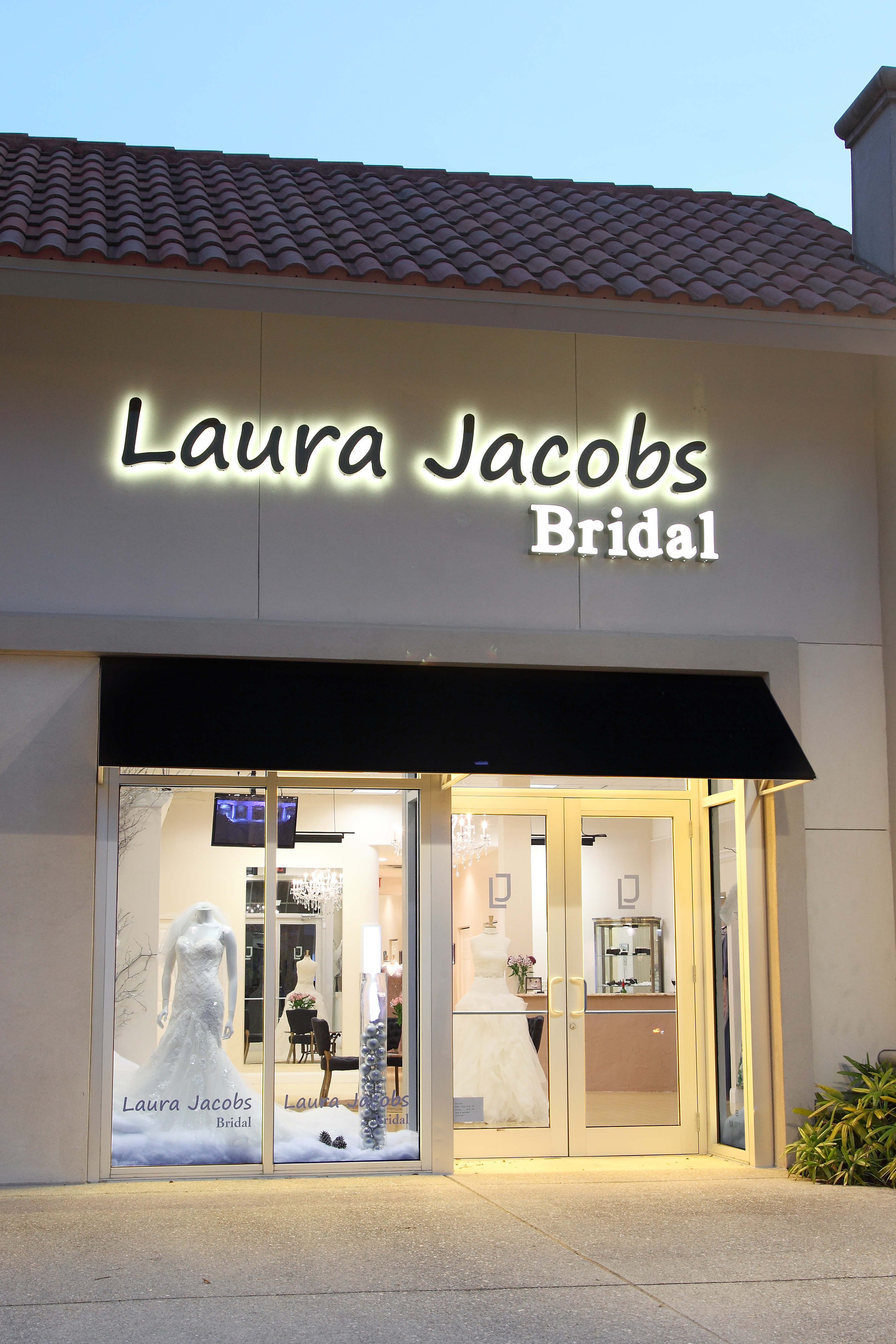 Tony and Loretta Violanti Owners of Laura Jacobs Bridal
